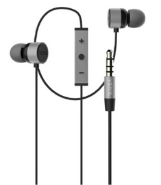 Noise Isolating Earphones with Microphone Control