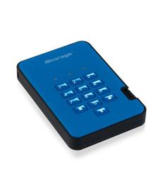DiskAshur2 256-bit 2TB USB 3.1 secure encrypted SSD - Blue -IS-DA2-256-SSD-2000-BE -