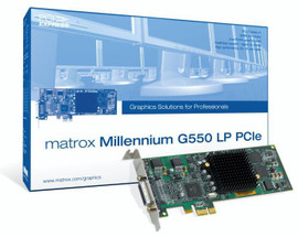 G550 Low Profile PCIe Graphics Card 32MB - G55-MDDE32LPDF -
