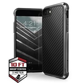 Raptic Lux for iPhone 7/8/Se2020  Black Carbon Fibre