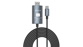 Type C to HDMI Cable - 2 mtrs