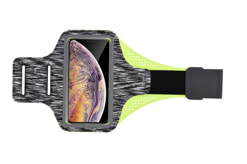 Universal Gym Sweat Resistant Armband - Black
