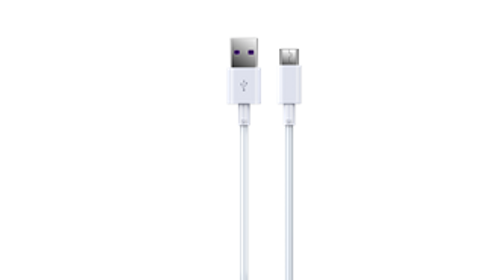 Devia - 1m (5A) USB to Type C Cable - White - Clickandbuy.today