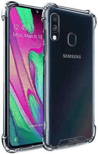 Clear Anti burst Case For Galaxy A70