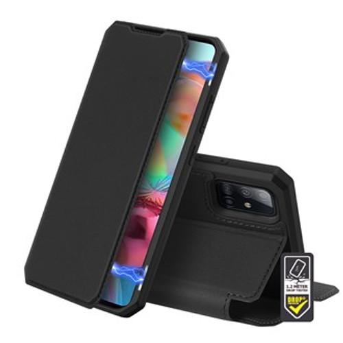 Skin X Black Wallet case for Galaxy A51