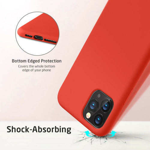 Yippee Liquid Silicone Case For iPhone 11 Pro