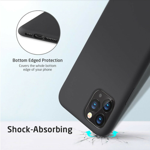 Yippee Liquid Silicone Case For iPhone 11 Pro Max