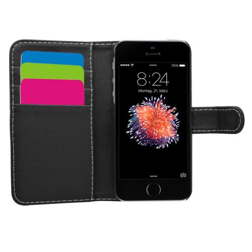 Black Wallet Case for iPhone 5s/Se