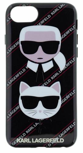 Black TPU Hard Back cover for iPhone 7/8/Se 2020