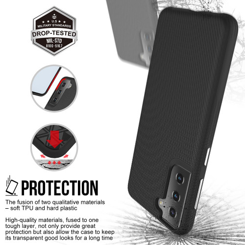 Xquisite ProGrip for Samsung Galaxy S21 Black