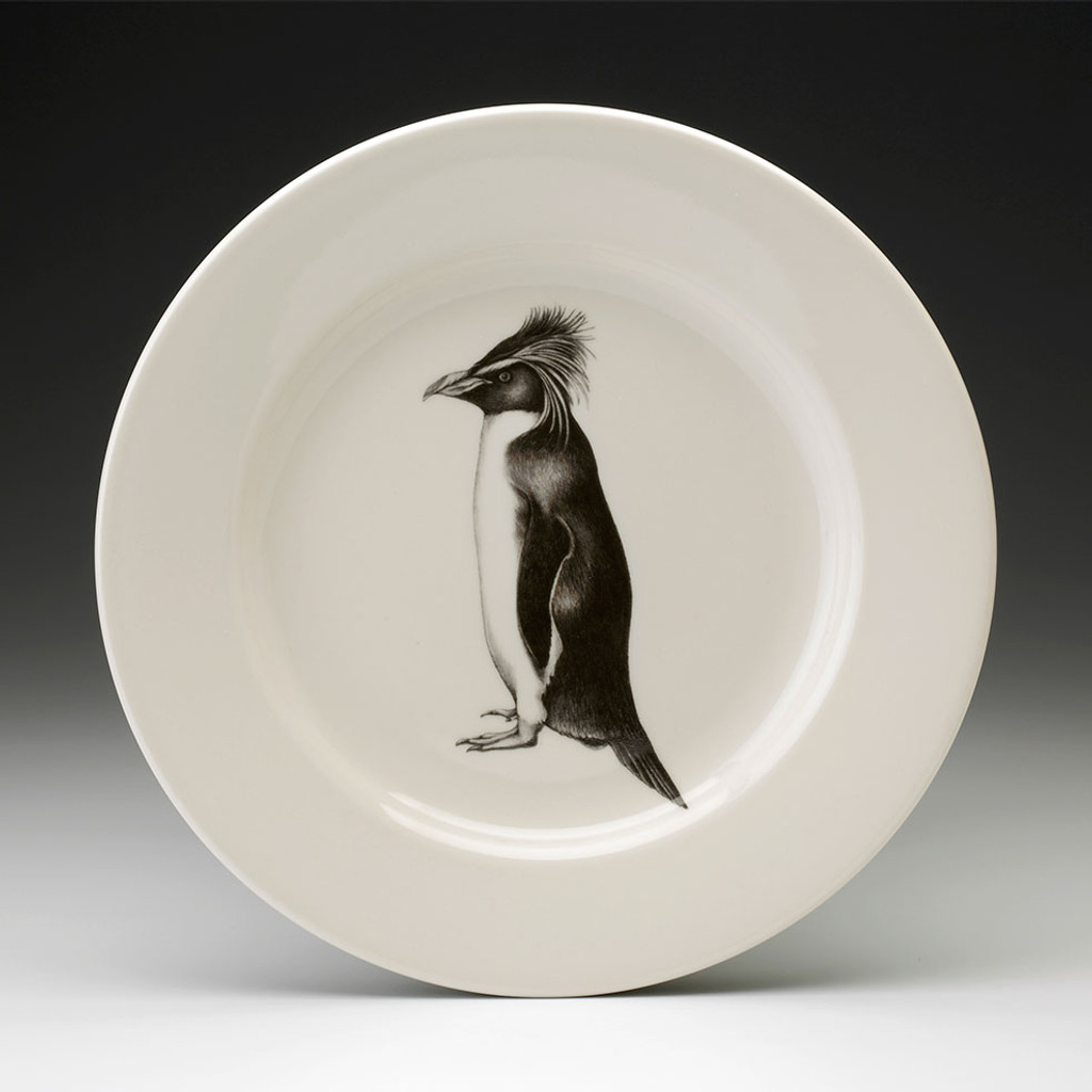 Dinner Plate: Rockhopper Penguin