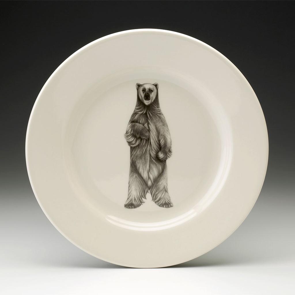 Dinner Plate: Standing Bear