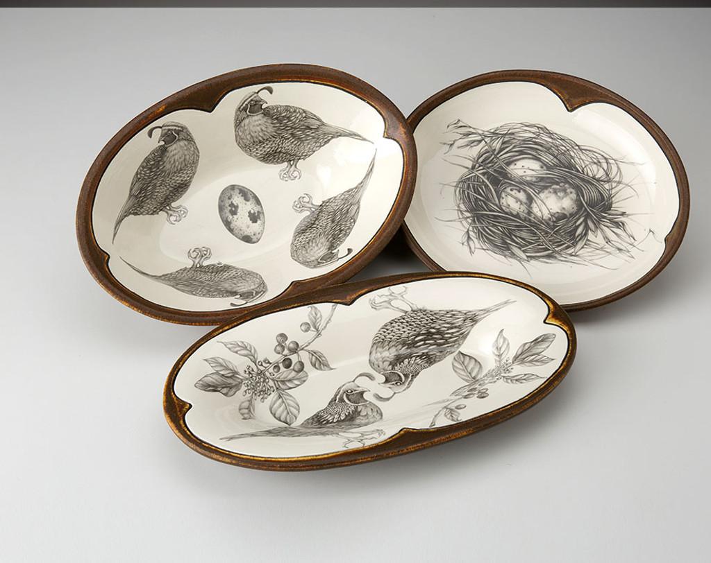 Small Serving Dish: Quail Nest
