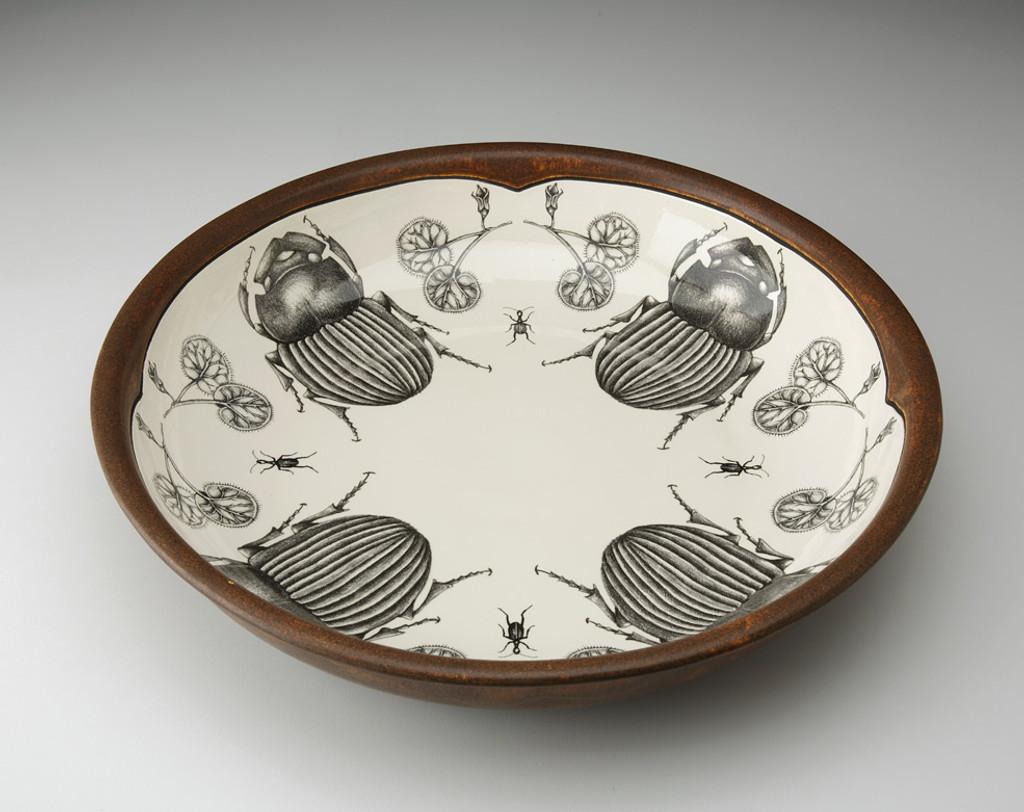 Pasta Bowl: Scarab Beetle