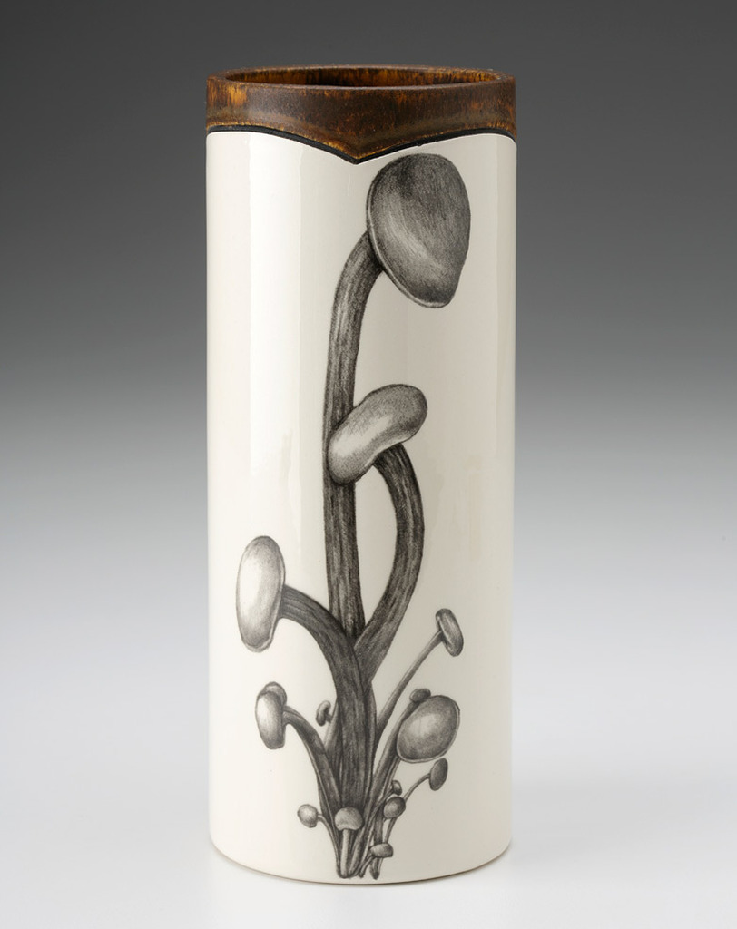 Small Vase: Enoki Mushroom