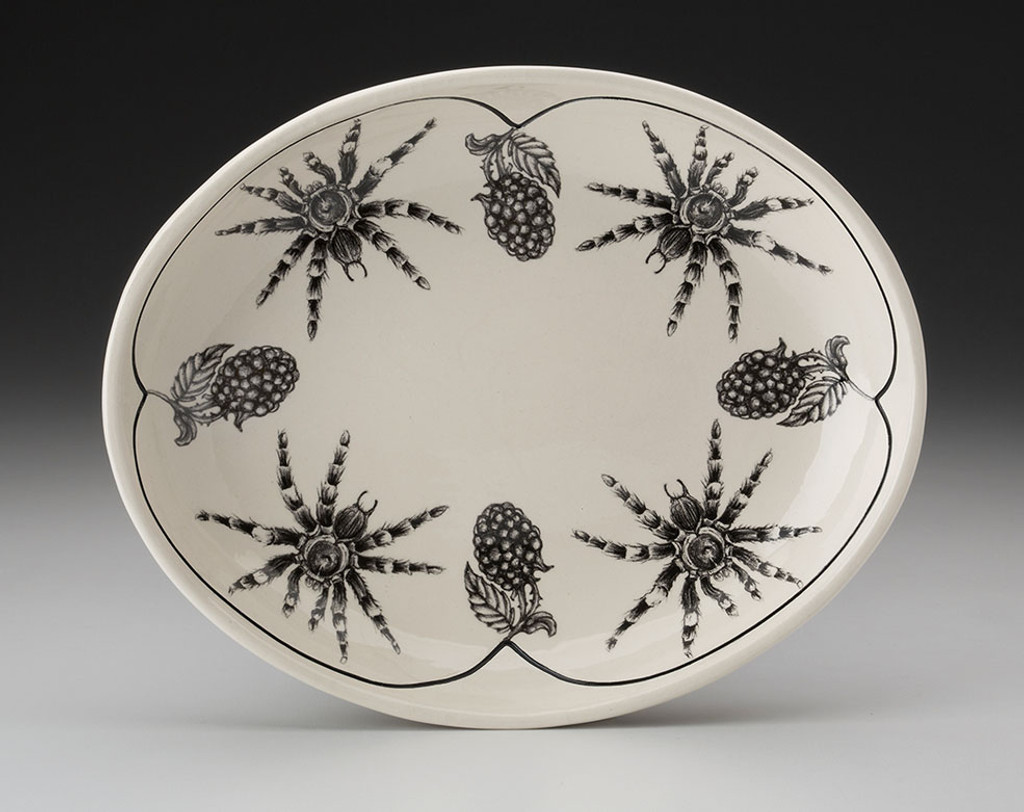 Small Serving Dish: Tarantula Spider