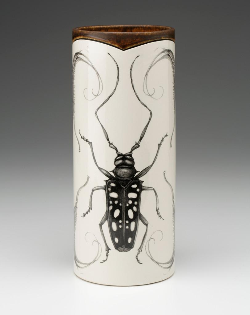 Large Vase: Long Horn Beetle