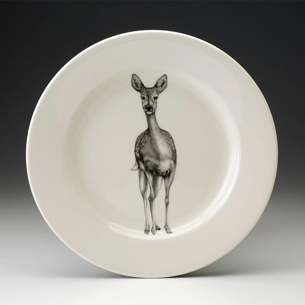 Dinner Plate: Fallow Doe