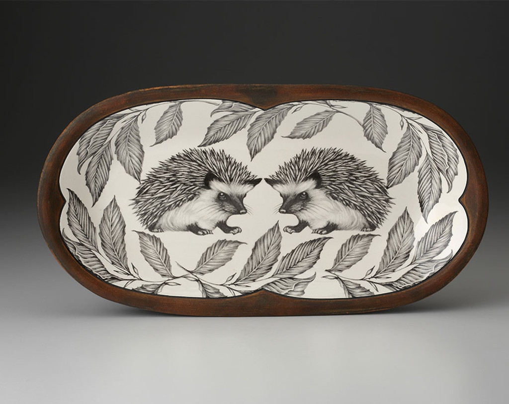 Rectangular Serving Dish: Hedgehog #1