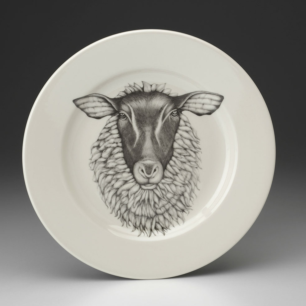 Dinner Plate: Suffolk Sheep