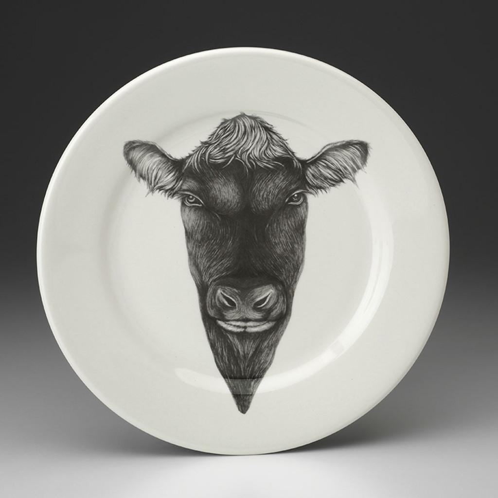 Dinner Plate: Angus Bull