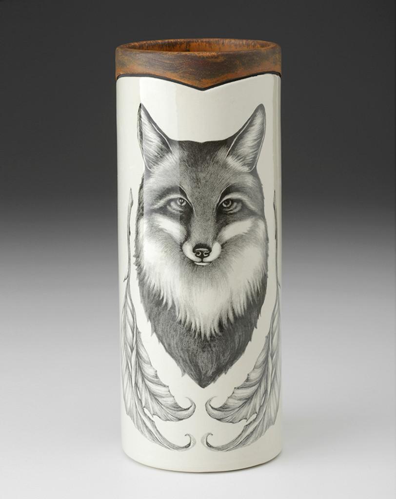 SMALL VASE - WOODLAND Fox LAURA ZINDEL DESIGN