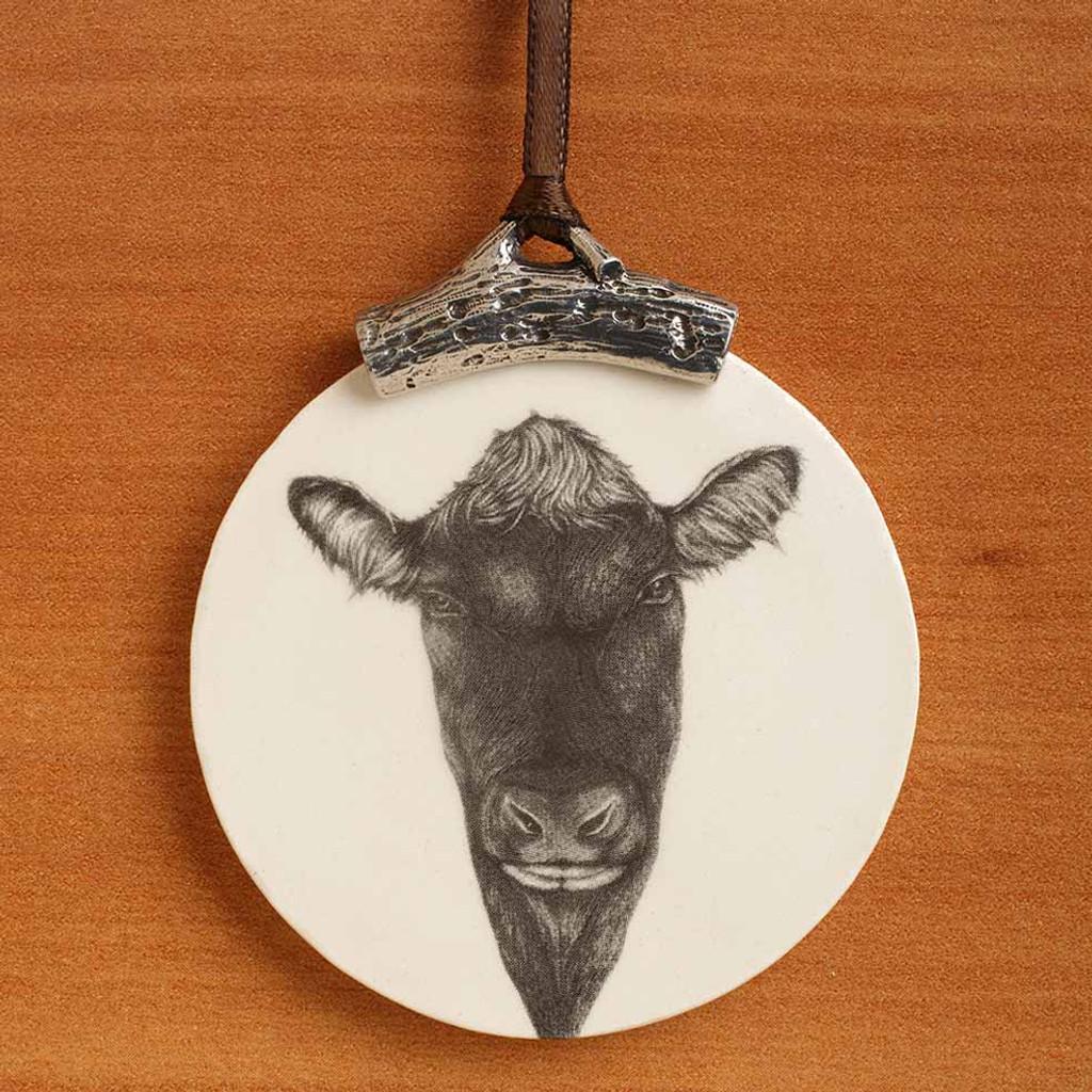 Ornament: Angus Bull