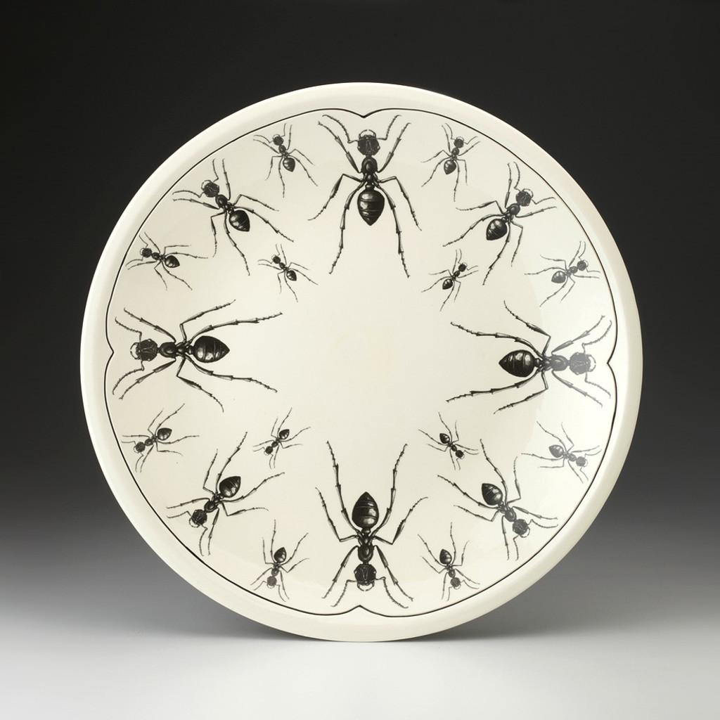 Large Round Platter: Ant