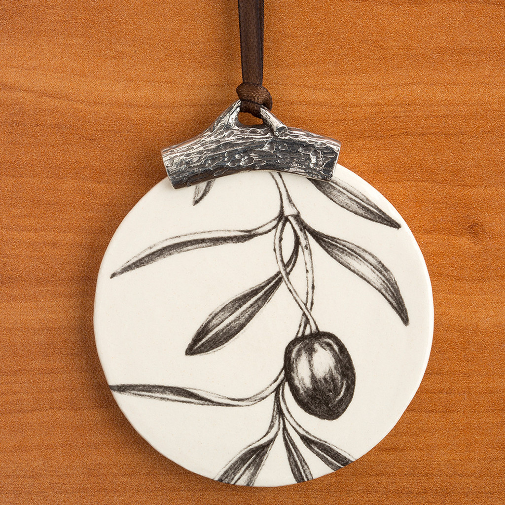 Ornament: Single Olive