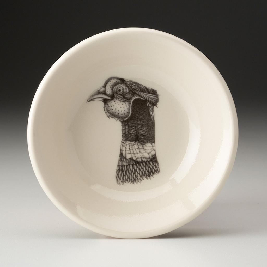 Sauce Bowl: Pheasant Head