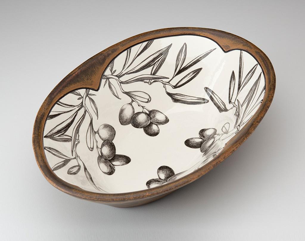 Large Serving Dish: Olives