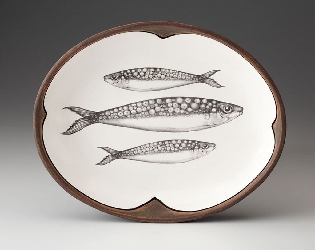 Small Serving Dish: Sardines