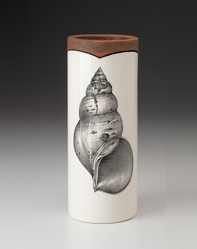 Large Vase: Snail Shell
