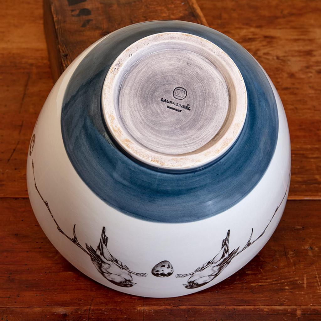 Medium Bowl: Coiled Wood Fern