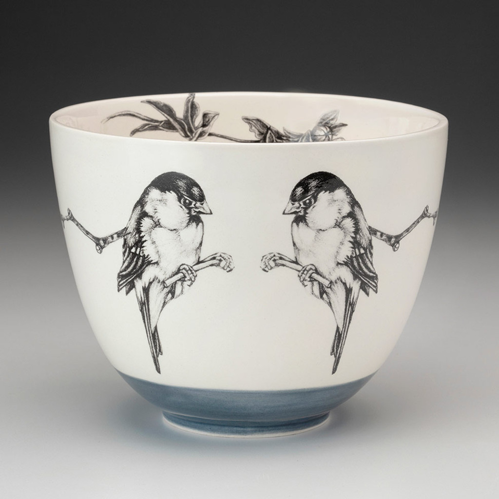 Medium Bowl: Chickadee