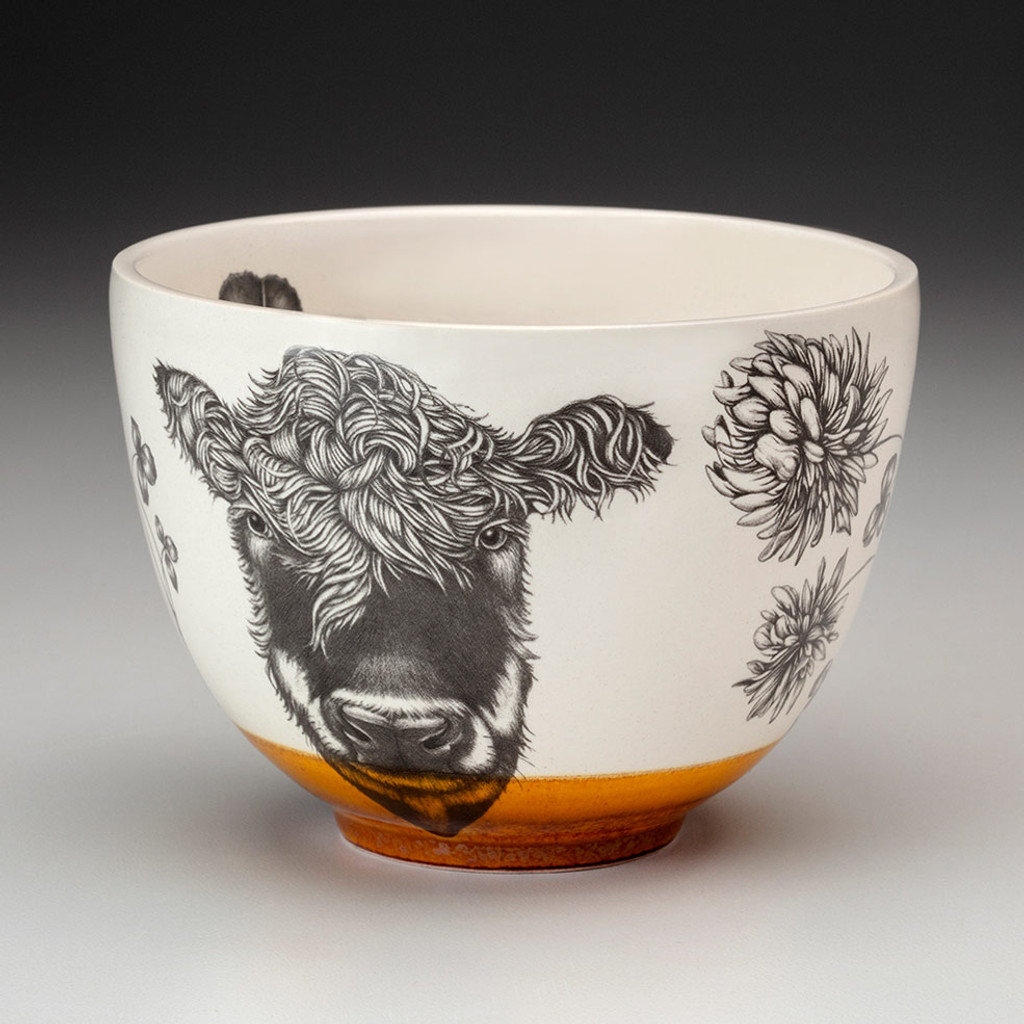 Small Bowl: Hereford Cow