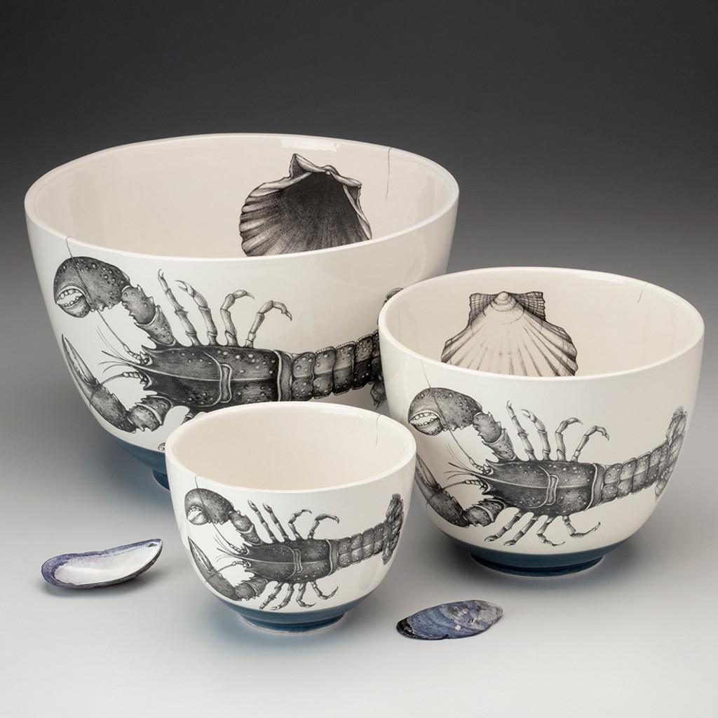 Small Bowl: Screech Owl #1
