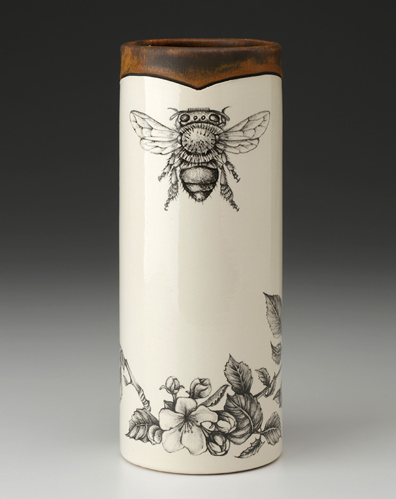 Small Vase: Honey Bee