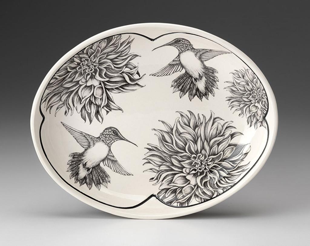 Small Serving Dish: Hummingbird #1