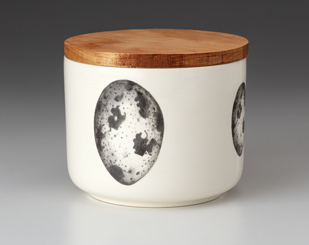 Mini Canister with Lid: Quail Egg