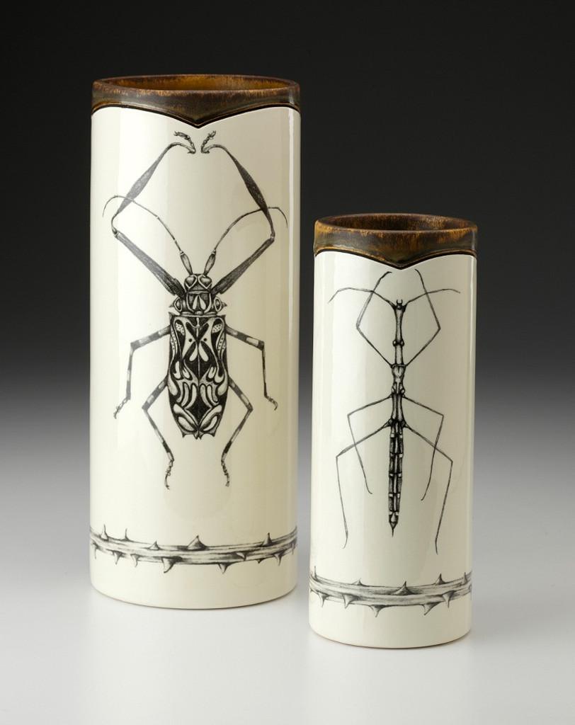 Large Vase: Harlequin Beetle