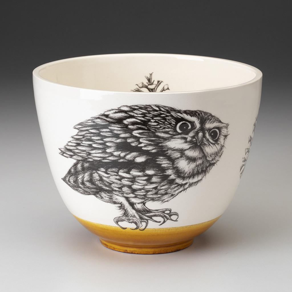 Medium Bowl: Screech Owl #2