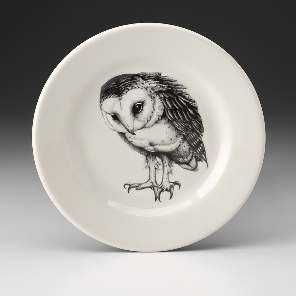 Bistro Plate: Barn Owl