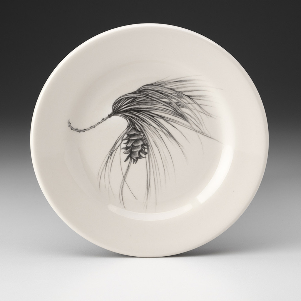 Bistro Plate: Pine Cone Sprig