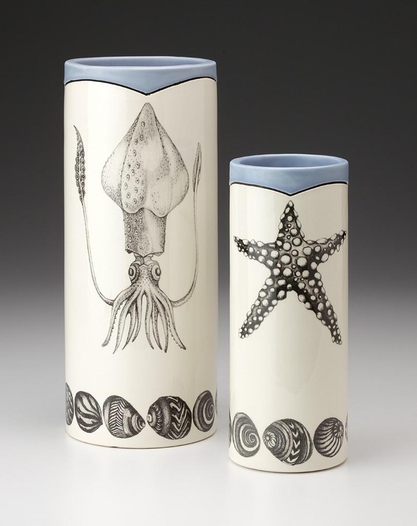 Large Vase: Squid