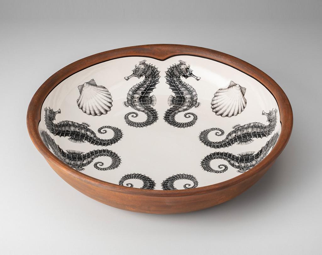 Pasta Bowl: Seahorse