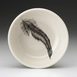Cereal Bowl: Rooster Feather