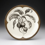 Small Round Platter: Beets