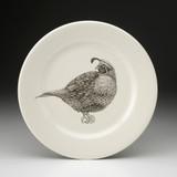 Dinner Plate: Quail #4