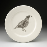 Dinner Plate: Quail #1
